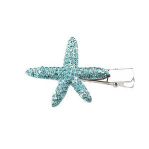 Blue hair clip paparazzi